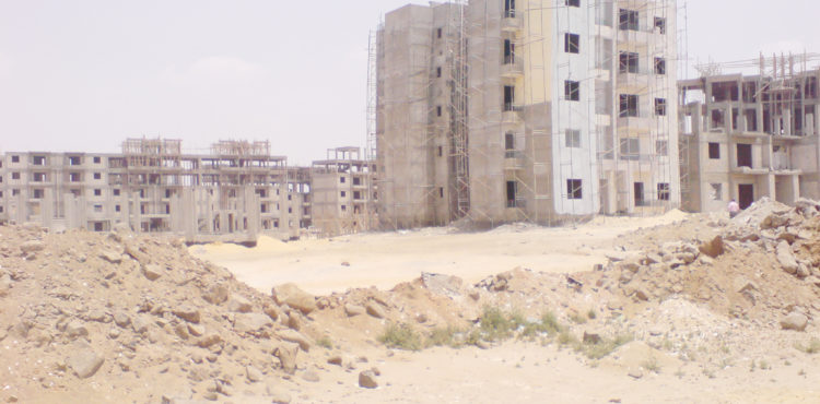 19 Social Housing Buildings in Beni Suef