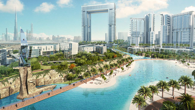 Dubi's RTA Contracts AED 703M Deals for Dubai Water Canal