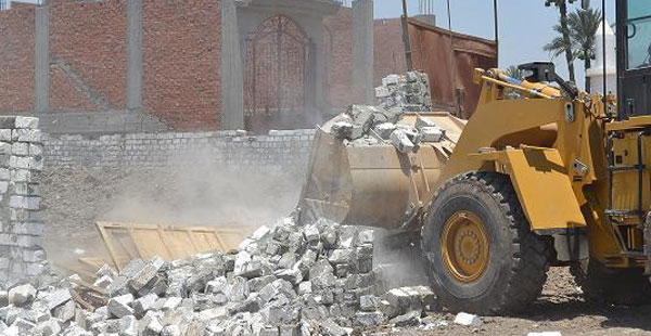 Housing Ministry to Remove 30,000 Sqm of Encroachments in New Thebes