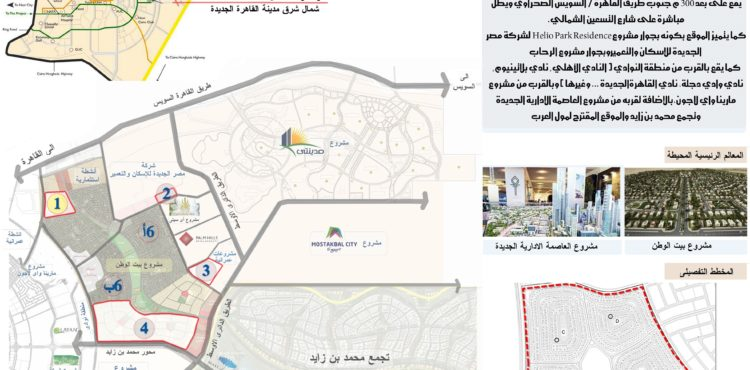 Ministry of Housing Offers Land in Upscale Areas in New Cairo