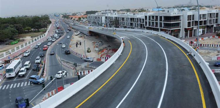 Dubai's RTA Announces Completion of Jumeirah Bridge