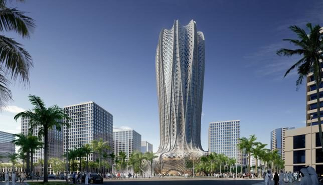 Qatar to Build Zaha Hadid Desert Flower-Shaped Hotel