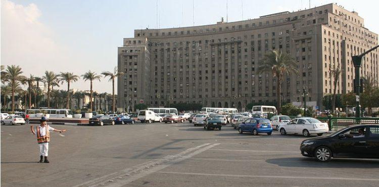 Tahrir's Mogamma Evacuation Begins