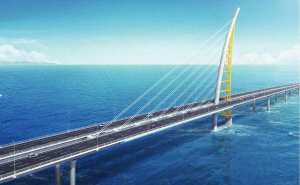 Kuwait's New Causeway Underway