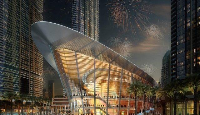 Dubai Opera Opens its Doors