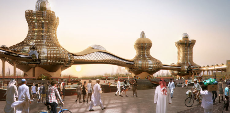 Dubai Municipality Advances Work on 'Aladdin City'