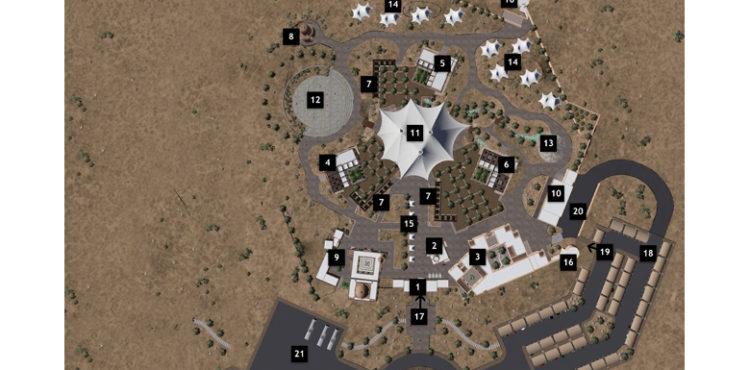 Shurooq Breaks Ground on Al Badayer Desert Camp