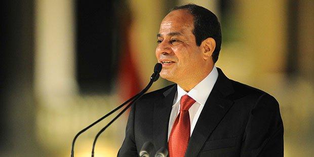 El Sisi Inaugurates El Nasr Bridge, Port Said