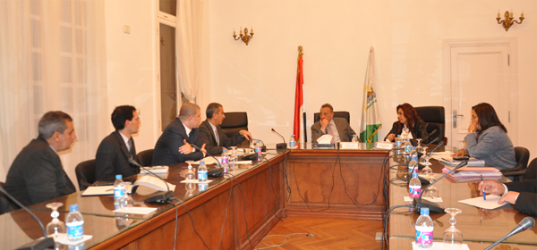 Giza and EU Delegation to Renovate Agouza District