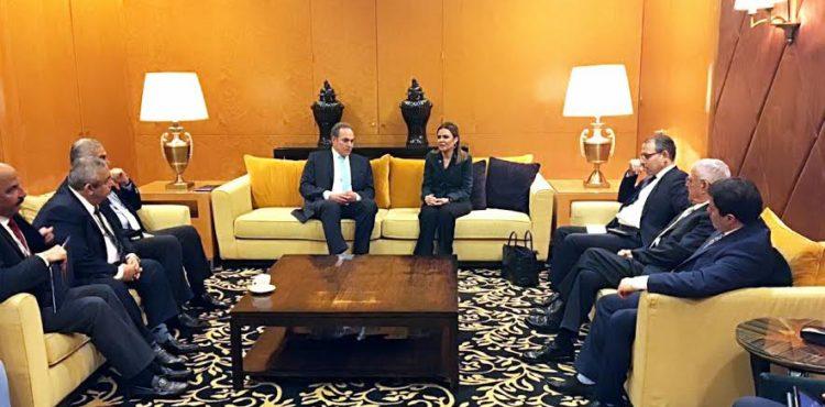 Nasr Holds Meetings with Lebanese Investors