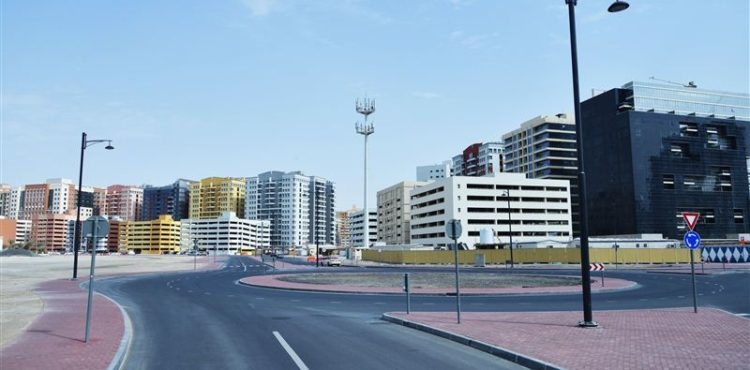 Dubai's RTA Builds Roads in 16 Residential Areas