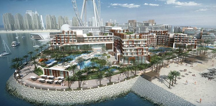 Dubai's Merass Bluewaters Island Almost Complete