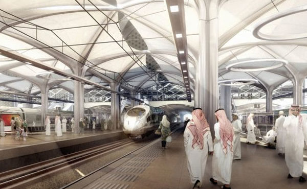 Saudi High-Speed Rail Project Almost Completed