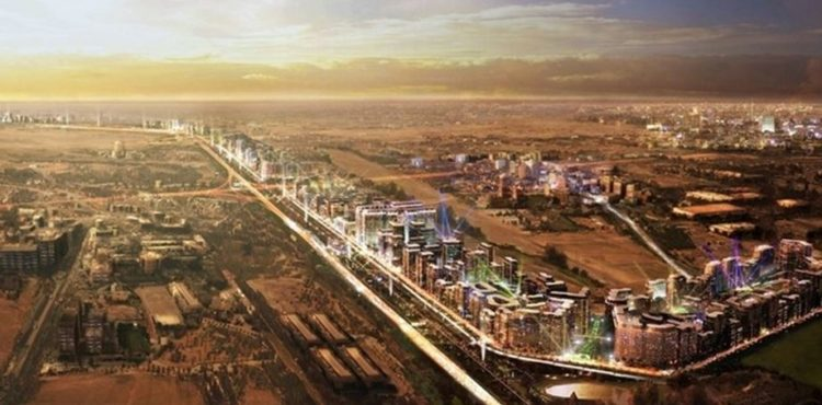 Infrastructure Projects in Progress at Dubai's Downtown Jebel Ali