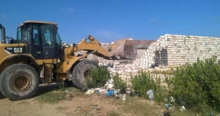 Gov't Removes Land Violations in El Shorouk, 6 Cities
