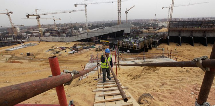 Construction Works at Grand Egyptian Museum Reach 70%