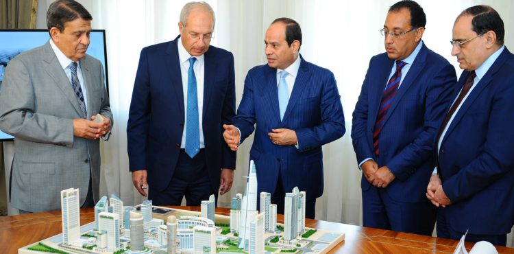 Egypt's Sisi Inaugurates First Phase of New Administrative Capital