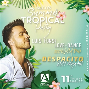 Event Alert: ARCO Brings Despacito's Luis Fonsi to North Coast This Weekend