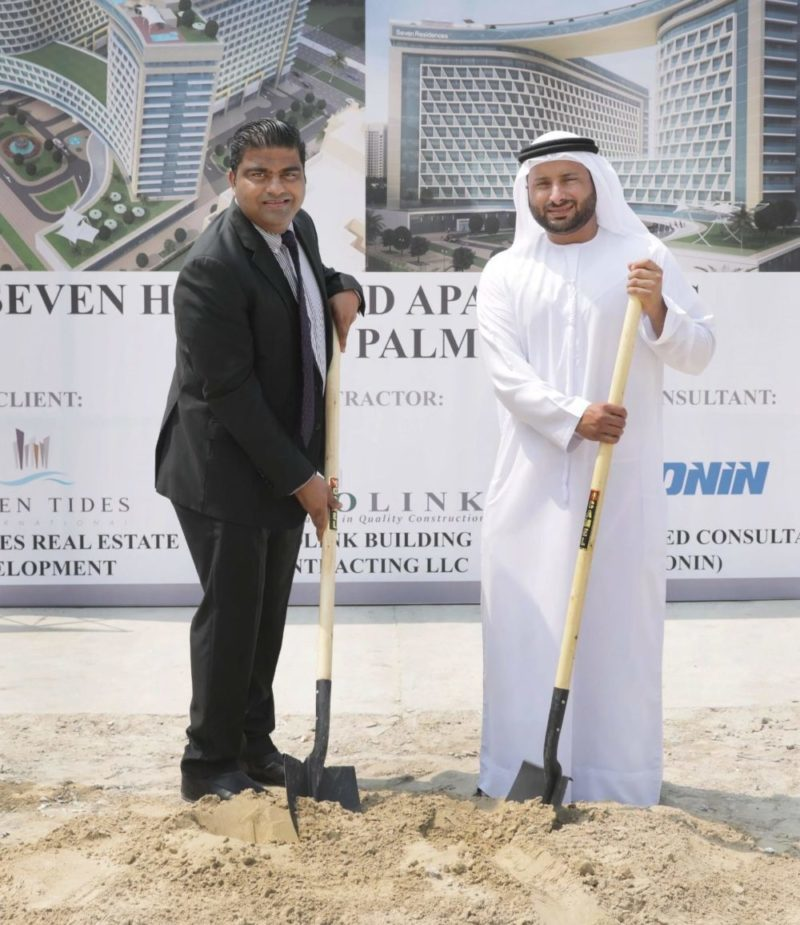Seven Tides Breaks Ground on SE7EN Residences the Palm