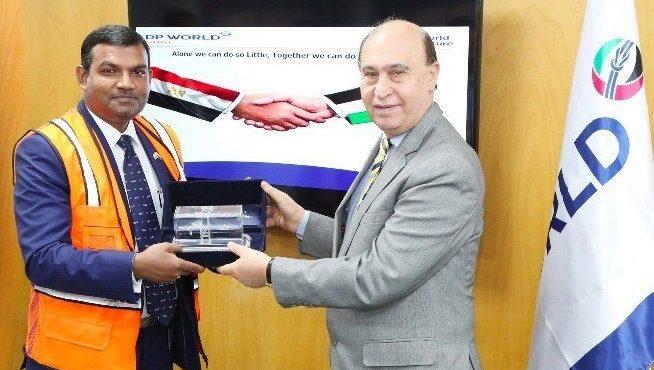 Egypt's Petroleum Minister, GASCEZ Chairman Tour DP World Sokhna