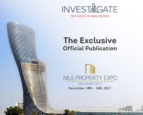 Invest-Gate Named Nile Property Expo Official Publication