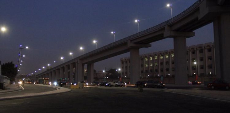 Southern Al Fangary Bridge Starts Experimental Operation