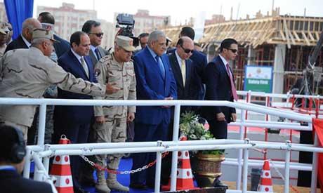 El Sisi Inaugurates Tunnel, Bridge at East Suez Canal Development Zone