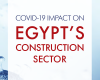 COVID-19 Impact on Egypt's Construction Sector