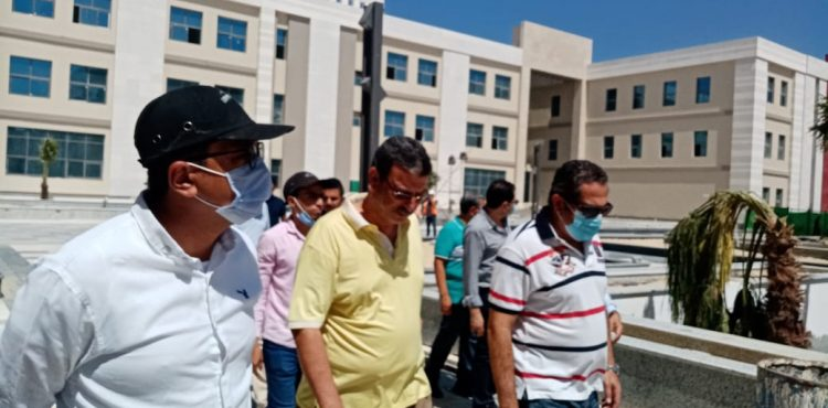 Deputy Minister of Housing Inspects El Alamein International University