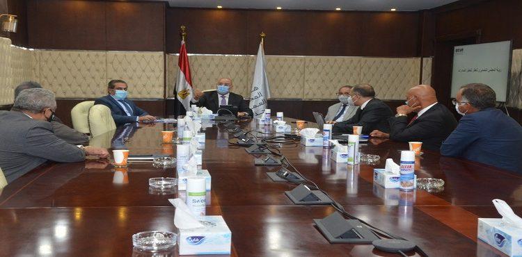 El Gazzar Meets Export Council for Real Estate Investment Members to Address Property Export