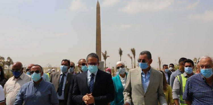 «العناني» يتفقد متحف العاصمة الإدارية تمهيدًا لافتتاحه قريبًا