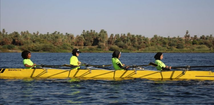 New Aswan Hosts Rowing & Sailing Marathon