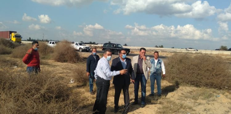 Gov't Inspects the Second Industrial Zone in  New Nubaria