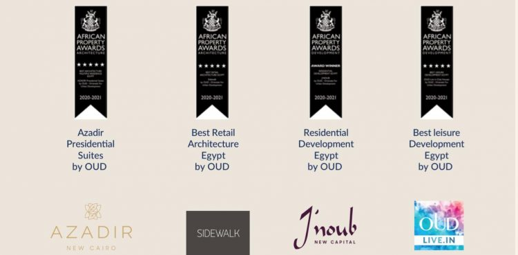 OUD Portfolio Grabs Prestigious Awards in 2020