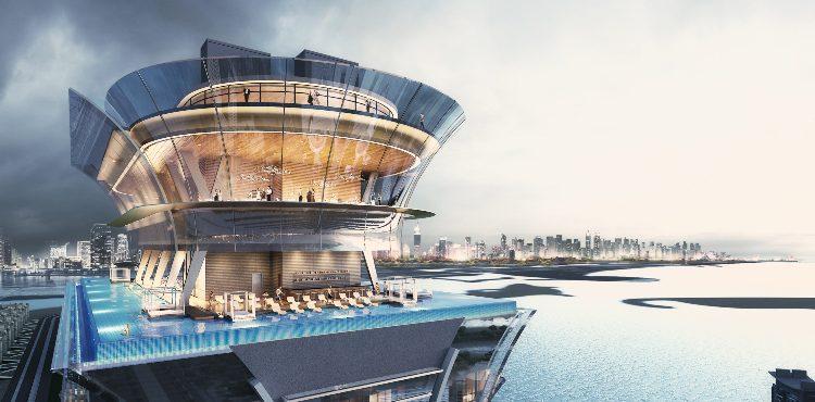 Nakheel Starts Work on Palm Tower Infinity Pool