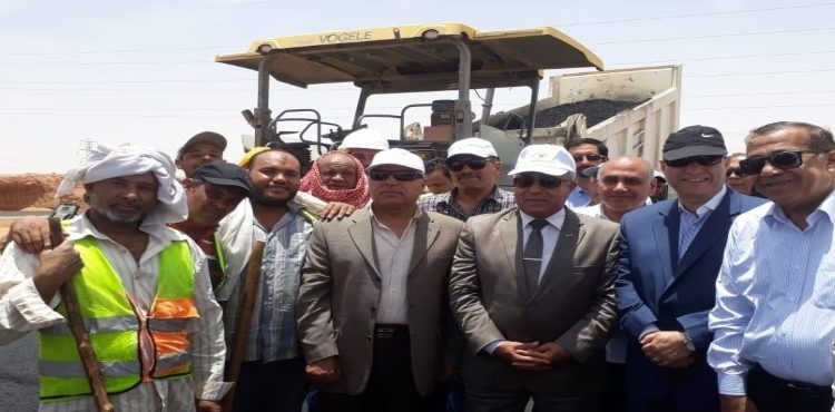 Transport Ministry Links Upper Egypt Main Roads with 8 New Axes