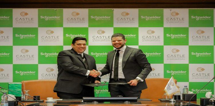Castle Development, Schneider Ink Energy Management Deal