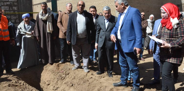 Minya Water Utility Company Expands Water & Sewage Connections Across Several Areas