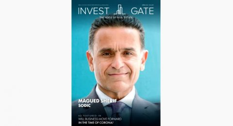 Egypt's Real Estate Gurus featured in April issue | In the Time of COVID-19