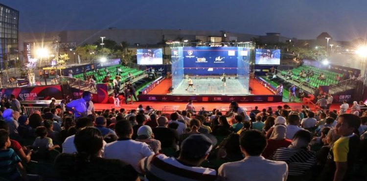 Mall of Arabia Hosts CIB PSA World Tour Finals for 2nd Time