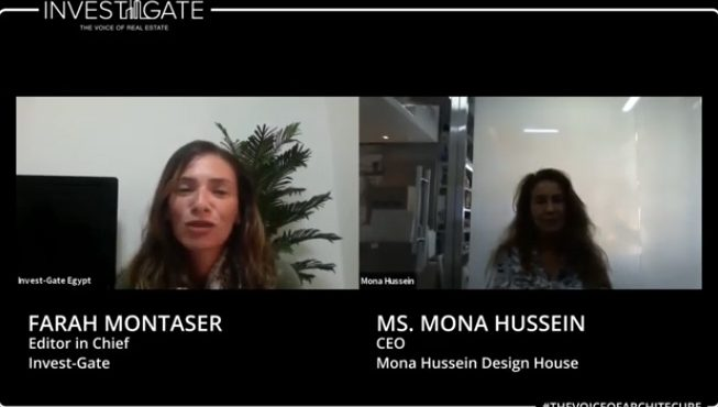 #TheVoiceOfArchitecture | Interview with Mona Hussein CEO of Mona  ...