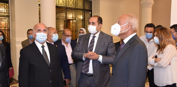 Constec & SAE Implement a Part Of the Administrative Attaché of the Arab League