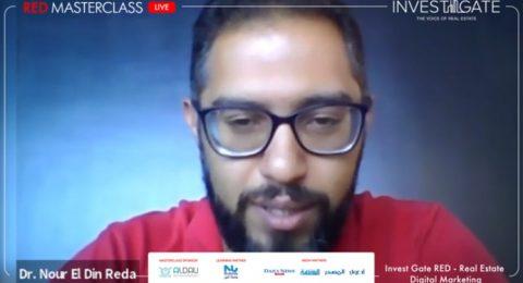 RED Masterclass | Real Estate Digital Marketing (Q&A) with Dr. Nour El deen Reda