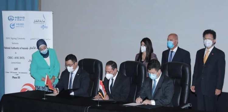 Chinese Alliance Signs Deals for Egypt's 1st LRT Project