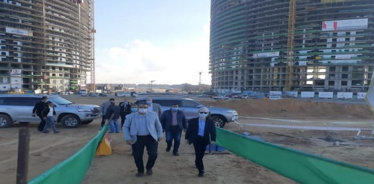 Japanese Ambassador Tours New Alamein Projects