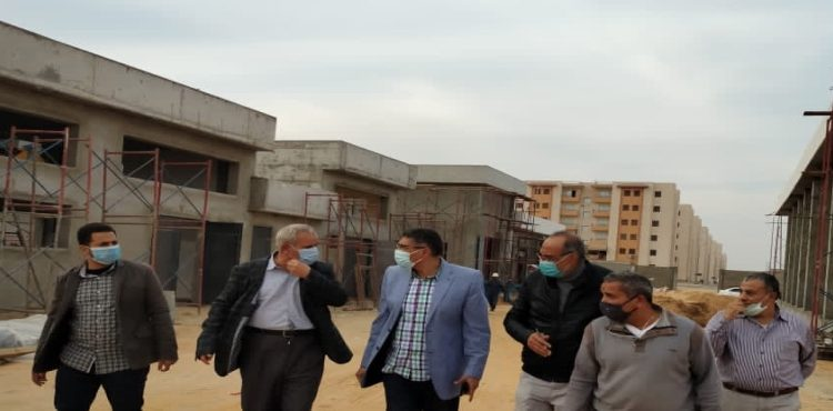 Official Calls for Swift Work on 936 Low-Income Housing in West Cairo