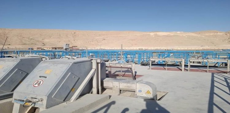Sohag Sees Pilot Operation of EGP 500 mn Treatment Plant