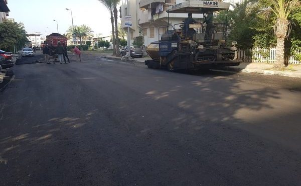 Gov't Follows up on Roads Network in New Damietta