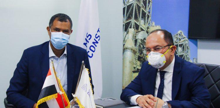 «لافارﭺ مصر» تتعاقد مع «إل إم إس» للإنشاءات للنهوض بمفهوم البناء في مصر