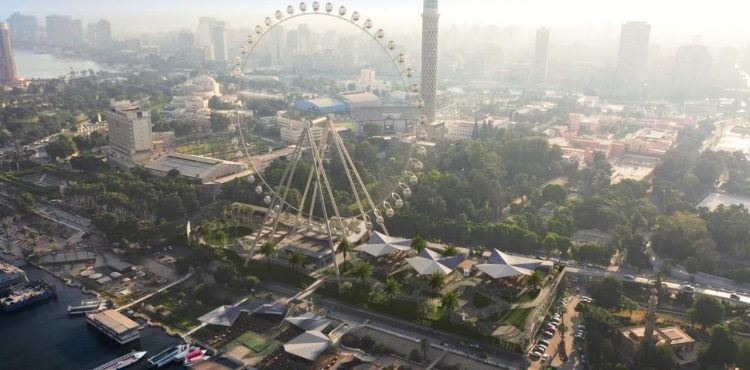 إطلاق «عين القاهرة» أول وأكبر عجلة دوارة بالقاهرة وإفريقيا في 2022